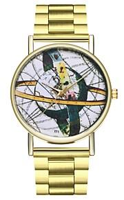 Homens Mulheres Único Criativo relógio Relógio Casual Chinês Quartzo Mostrador Grande Punk Relógio Casual Aço Inoxidável Banda Criativo