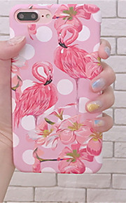 Case For Apple iPhone 6 Plus / iPhone 7 Plus Pattern Back Cover Flamingo Hard PC for iPhone 7 Plus / iPhone 7 / iPhone 6s Plus