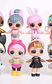 Tronzo 8Pcs/Bag Kawaii Boneca Animals Action Figures Toy Toys People Princess Plastic Shell 8pcs Pieces