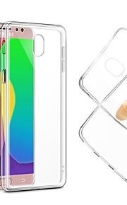 Kılıf Na Samsung Galaxy J7 (2017) / J7 (2016) Ultra cienkie / Przezroczysta obudowa Osłona tylna Solidne kolory Miękka TPU na J7 (2017) / J7 (2016) / J7