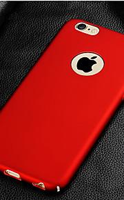 Kılıf Na Apple iPhone 8 iPhone 8 Plus Etui iPhone 5 iPhone 6 iPhone 7 Galwanizowane Czarne etui Solid Color Twarde PC na iPhone 8 Plus