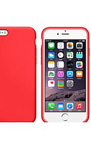 Kılıf Na Apple iPhone 8 iPhone 8 Plus Odporne na wstrząsy Ultra cienkie Czarne etui Solid Color Miękkie TPU na iPhone 8 Plus iPhone 8