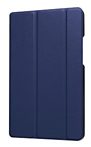 Funda Para Huawei MediaPad MediaPad T3 8.0 con Soporte Funda de Cuerpo Entero Un Color Dura Cuero de PU para Huawei MediaPad T3 8.0