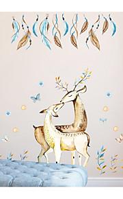 Wallstickers Dekorative Mur Klistermærker - Fly vægklistermærker Abstrakt Dyr Kan fjernes