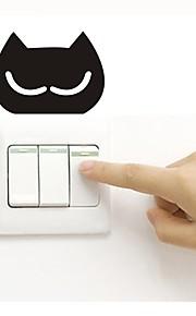 Wallstickers Klistermærker til kontakter Toilet klistermærker - Fly vægklistermærker Dyr Kan fjernes