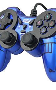 WE-816 Med ledning Game Controllers Til PC Vibrering Game Controllers ABS 1pcs enhet USB 2.0