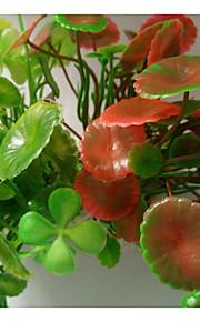 수족관 장식 / Waterproof 수중식물 / 식물 장식 / 물 세탁 가능 플라스틱