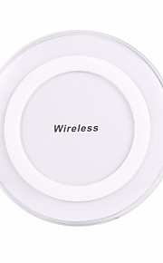 Wireless Charger USB Charger Universal Wireless Charger Not Supported 1 A 100~240 V iPhone X / iPhone 8 Plus / iPhone 8