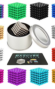 216 pcs 3mm Magnet Toy Magnetic Balls Magnet Toy Super Strong Rare-Earth Magnets Magnetic Stress and Anxiety Relief Office Desk Toys Relieves ADD, ADHD, Anxiety, Autism Novelty Teenager / Adults' All