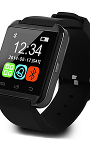 U8 Smartwatch Android iOS Bluetooth Sports Touch Screen Calories Burned Temperature Display Smart Case Activity Tracker Alarm Clock / Hands-Free Calls / Media Control / Message Control