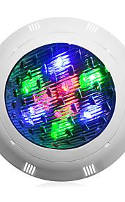 1pc 9 W Luces Bajo el Agua Impermeable Blanco Fresco / RGB / Blanco 12 V Iluminación Exterior / Piscina 9 Cuentas LED