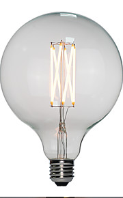 6pcs 6 W 120 lm E26 / E27 LED-gloeilampen G125 6 LED-kralen Krachtige LED Warm wit 110-130 V / 200-240 V