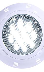 1pc 12 W Luces Bajo el Agua Impermeable Blanco Fresco / RGB / Blanco 12 V / 24 V Iluminación Exterior / Piscina 12 Cuentas LED
