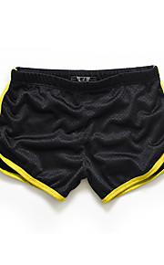 Ανδρικά Ενεργό Λεπτό / Σορτσάκια Παντελόνι - Μονόχρωμο / Συνδυασμός Χρωμάτων Κίτρινο / Αθλητικά / Καλοκαίρι