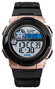 SKMEI Ανδρικά Αθλητικό Ρολόι Στρατιωτικό Ρολόι Ψηφιακό ρολόι Ψηφιακό  σιλικόνη Μαύρο   Πράσινο 50 m Συναγερμός 538fbc62737