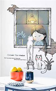 παιδικό δωμάτιο ζεστό αυτοκόλλητο αυτοκόλλητα ταπετσαρία αυτοκόλλητα κορίτσι δωμάτιο διακόσμηση κομοδίνο φόντο τοίχο αυτοκόλλητα κοιτώνα ταπετσαρία αυτοκόλλητο