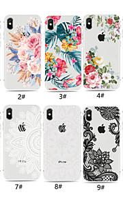 tok Για Apple iPhone XR / iPhone XS Max Διαφανής / Με σχέδια Πίσω Κάλυμμα Λουλούδι Μαλακή TPU για iPhone XS / iPhone XR / iPhone XS Max
