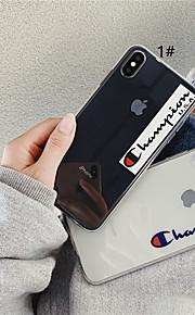 tok Για Apple iPhone XR / iPhone XS Max Διαφανής / Με σχέδια Πίσω Κάλυμμα Λέξη / Φράση / Διάφανη Μαλακή TPU για iPhone XS / iPhone XR / iPhone XS Max