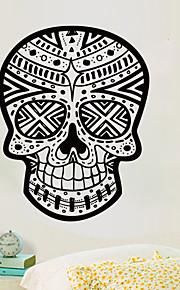 Μεξικάνικο πρότυπο κρανίο τοίχο αυτοκόλλητα διακοσμητικά τέχνης ταπετσαρία τέχνης