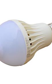 5 W LED Λάμπες Σφαίρα 270-370 lm E26 / E27 14 LED χάντρες Υπέρυθρος Αισθητήρας 220-240 V, 1pc