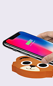 быстрое беспроводное зарядное устройство qi для samsung galaxy s9 / s9 s8 s7 note 9 s7 edge usb зарядное устройство qi для iphone xs max xr x 8 plus