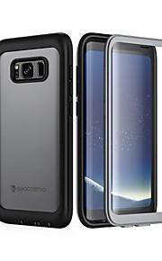 Кейс для Назначение SSamsung Galaxy S8 Plus / S8 Защита от удара Кейс на заднюю панель Однотонный Твердый пластик для S8 Plus / S8