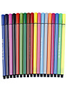 Painting Pen Water Color Pens Pen,Plastic Barrel Red Blue Yellow Ink Colors For School Supplies Office Supplies Pack of