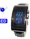 Future Design - Blue LED Watch with DIY Own Words Rolling Screen