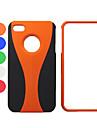Housse de protection rigide en plastique pour iphone 4 / 4S