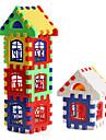 Красочный дом из разноцветных элементов (24 шт.)