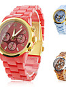 Unisex Casual Analog Style Quartz Wrist Watches (Assorted Colors)