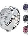 женщин сплава аналоговые часы, кольца (разных цветов)