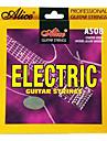 앨리스 a508-SL 코팅 강철 전기 기타 문자열
