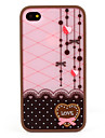 Polycarbonate Bumper and Back Cover for iPhone 4 and 4S (Windbell)
