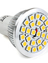 Spot Lights , GU10 W 24 SMD 5050 300 LM Warm White MR16 V