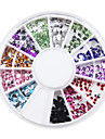 1200 Manucure Dé oration strass Perles Maquillage cosmétique Nail Art Design