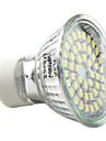 3W 250-300lm GU10 Lampadas de Foco de LED MR16 48 Contas LED SMD 3528 Branco Natural 220-240V