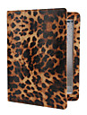 Leopard Skin PU Leather Case with Stand for iPad 2/3/4 (Assorted Colors)