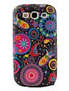 красочные цветы ленты модель ТПУ случае для Samsung Galaxy i9300 s3 (многоцветные)