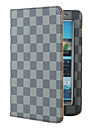 Plaid Protective PU Case with Stand for Samsung Galaxy Tab2 P3100