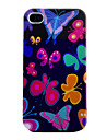 Бабочки Мягкий чехол для iPhone 4 и 4S