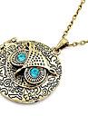 античная медь старинные сова циркон ожерелья