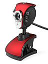 Pheonix 6-LED 5.0 Megapixels USB 2.0 Clip-on Webcam PC Camera avec Microphone