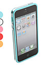 Intermediate Transparent Bumper Case for iPhone 5/5S (Assorted Colors)