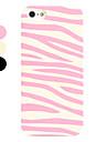 зебры узоров жесткий футляр для iphone 5/5s (разных цветов)