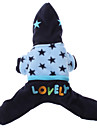 Dog Hoodie Jumpsuit Dog Clothes Breathable Embroidered Costume For Pets