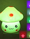 Lovely Mushroom Style Colorful Light LED Night Lamp (3xLR44)