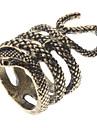Z&x® индивидуальность стиль моды форма змея кольцо