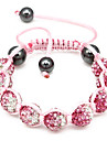 Red And White Gradient Color Bracelet