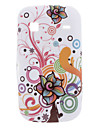 Flower Design Soft Case for Samsung Galaxy Gio S5660 Cases / Covers for Samsung
